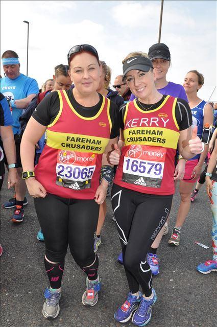 Peeing marathon runners